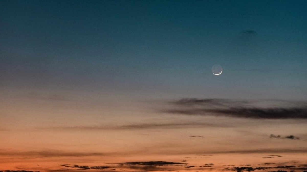 New Moon in Virgo. Picture by Ludvig Hedenborg on Pexels.